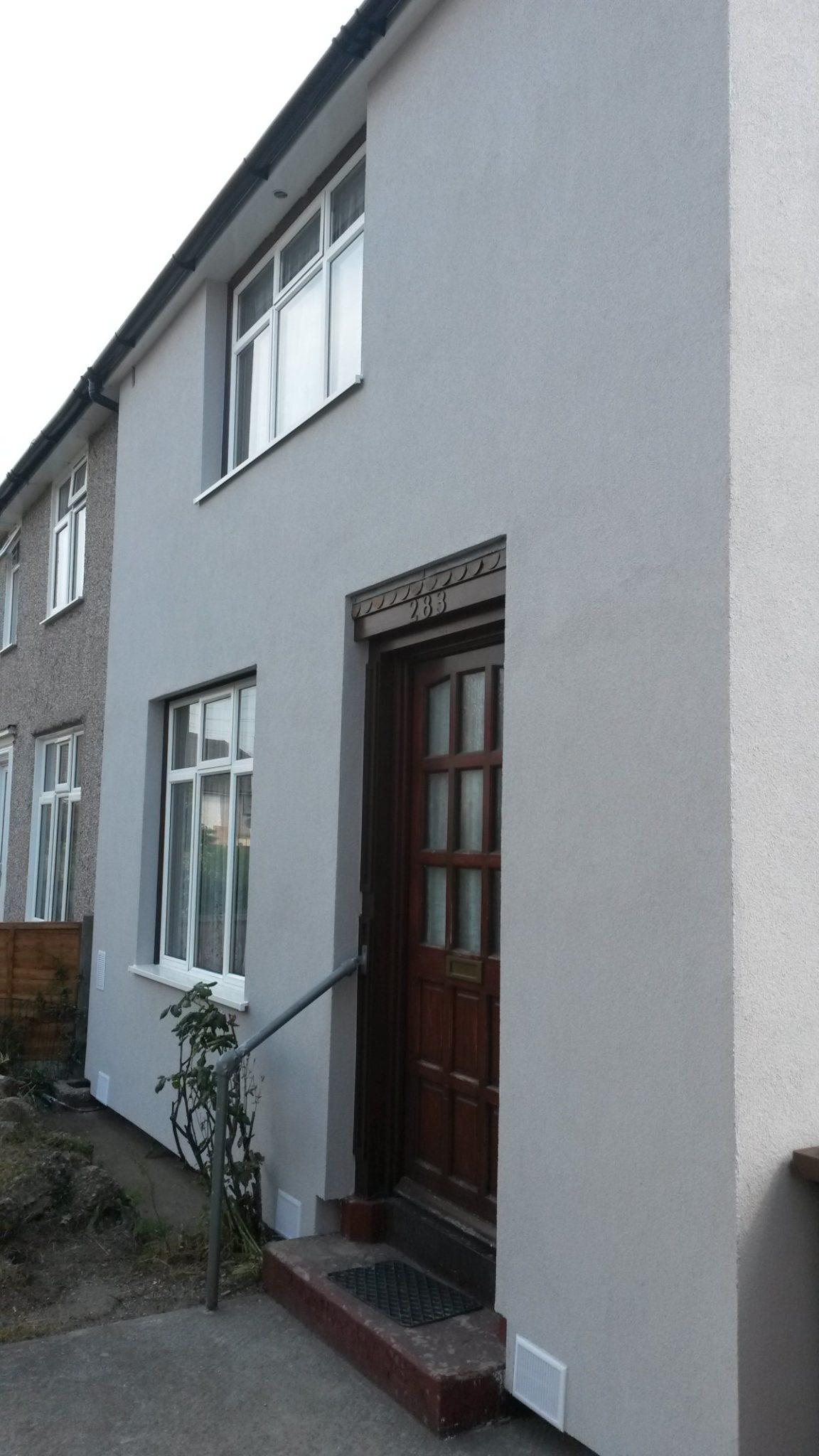 External Wall Insulation : External solid wall insulation vs cavity
