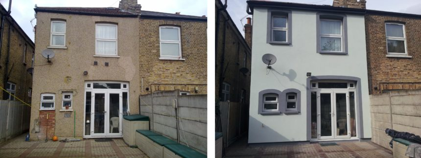 EPS External Wall Insulation Project – Hounslow