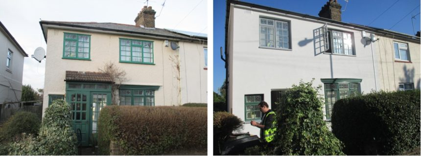EPS External Wall Insulation Project – Walthamstow