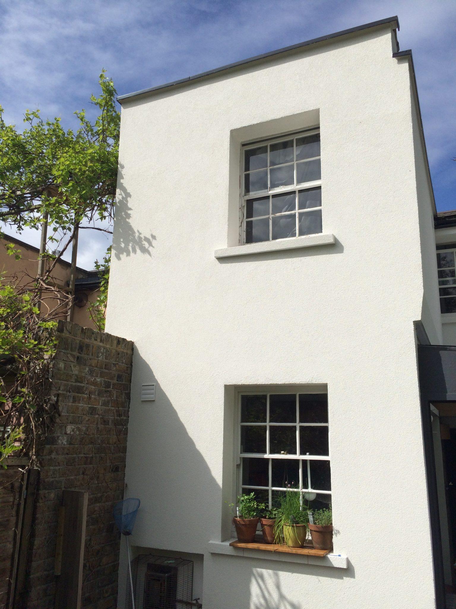 Solid wall insulation – Window Sills