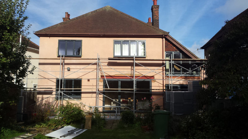 External solid wall insulation St. Albans 2