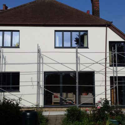 External solid wall insulation St. Albans 4