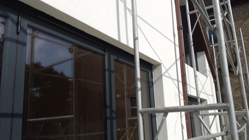 External solid wall insulation St. Albans 1