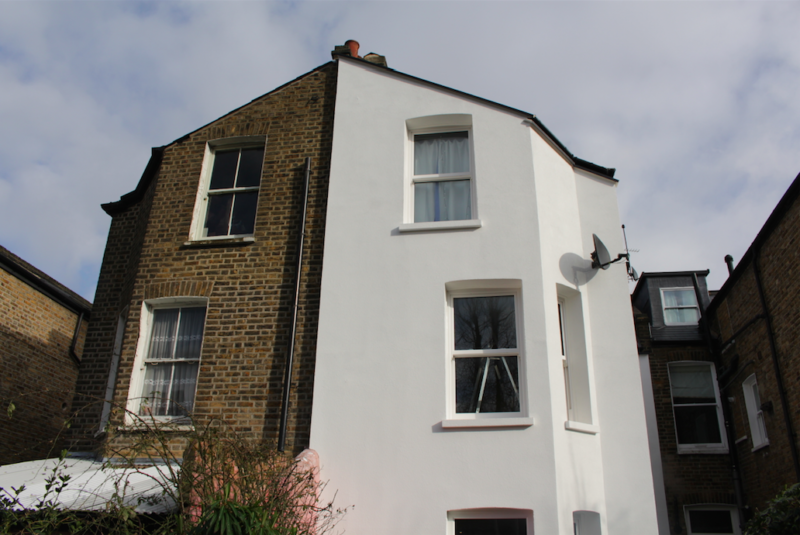 Solid wall insulation Brixton london