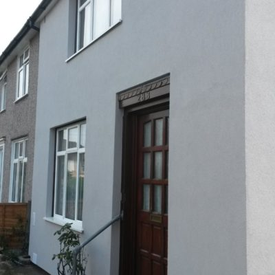External solid wall insulation vs a retro-fit cavity