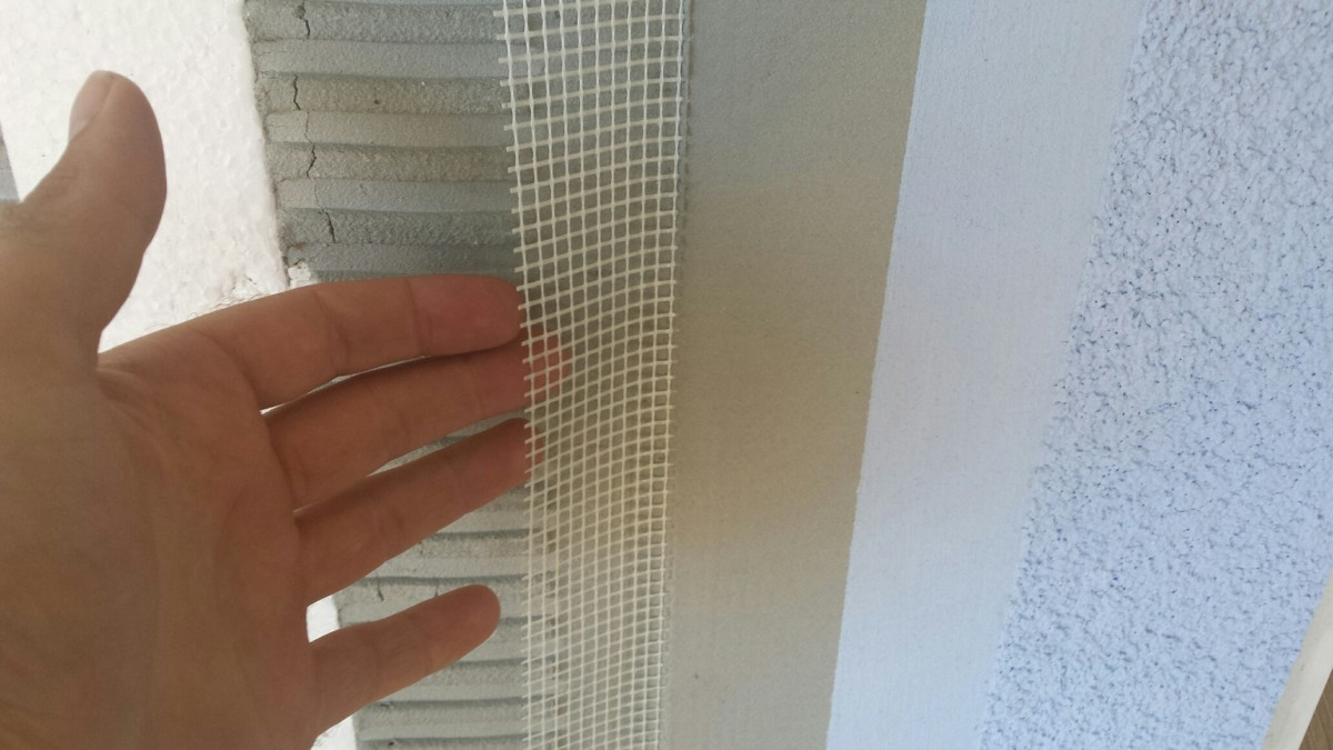 Fibre Glass Mesh On Rendering Systems