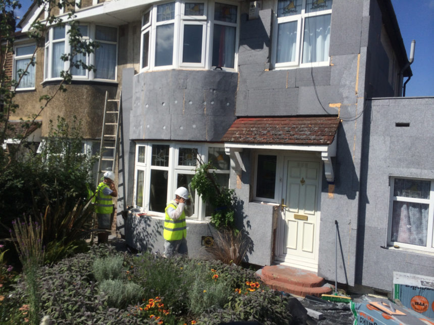 GDHIF and solid wall insulation