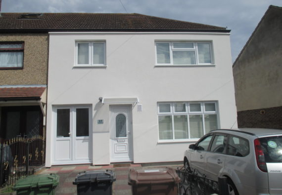 Re-render versus solid wall insulation