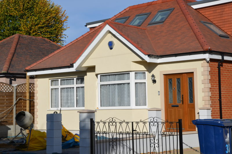 External wall insulation London