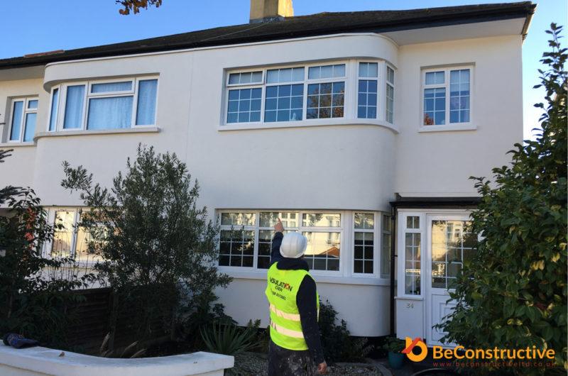 external wall insulation east london