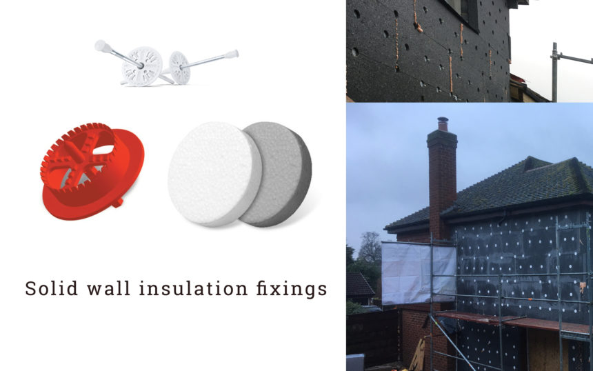 external wall insulation fixings